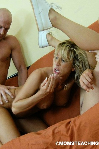 Milf Shows Teen How To Suck And Fuck