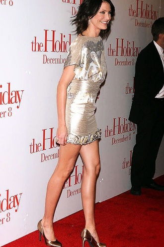 Cameron Diaz Looks Hot In Tight Short Dress