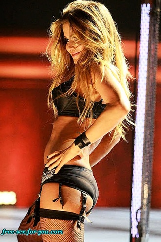 Carmen Electra Strip Dance In Hot Lingerie