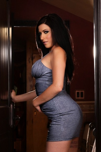 Daisy Cruz Is Looking So Adorably Sexy In Her Silver Dress. She Has Such Dreamy Eyes..You Could Easily Get Lost In Them. She Teases And Dances Her Way To That Sexy Nude Body.