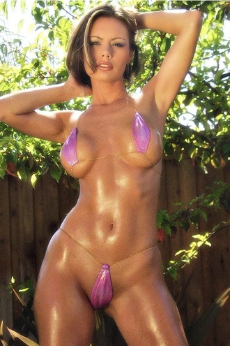Tiny Pink Bikini