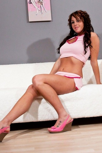 Bella Pink Heels
