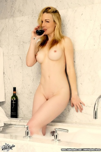 Care To Join Me Me For A Hot Bath And A Glass Of Wine?