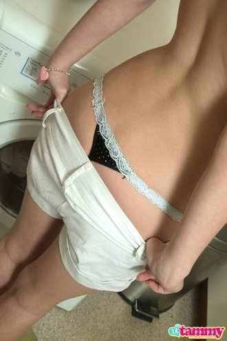 Horny Teen Getting Naked And Teasing Hot