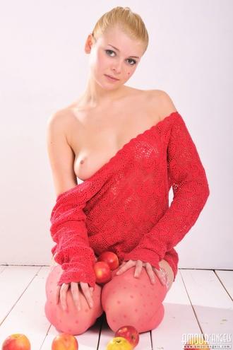 Pink Stockings Beauty