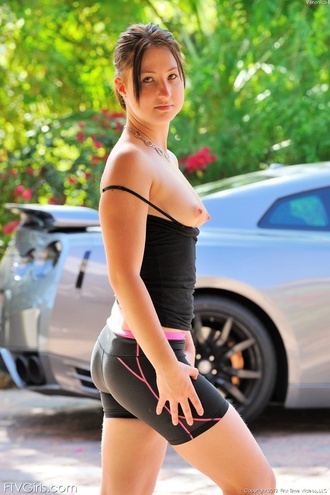 Veronika Sporty And Fit