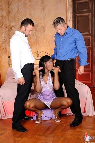 Sexy Ebony Banged Hard