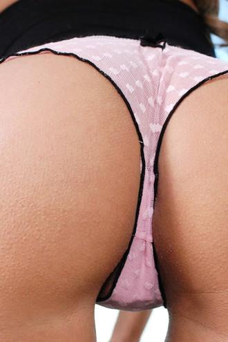 Lisa Daniels Pink Panties