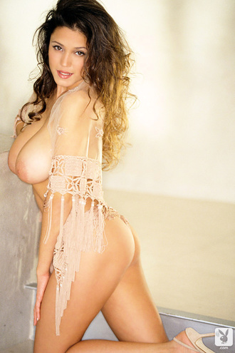 Playmate Exclusives March 2001   Miriam Gonzalez&H