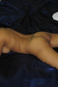 Thai Girlfriend Posing On Bed