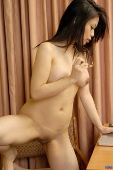 Cute Asian Spreading