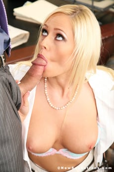 Angelina Ash Receives A Load Of Hot Jizz On Tits
