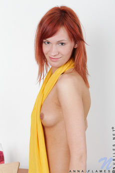 Fresh Nubile Stunner Flaunts Her Naked Body While Tickling Her Juicy Assets