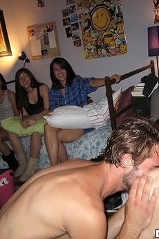 8 Fucking Booty Short Teens Spied On In The Girls Gym Bathroom Then Drilled And Cumfaced In This All Out Dorm Room Sex Party