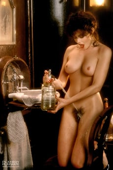 The Setting For 1984 Playmate Of The Year Barbara