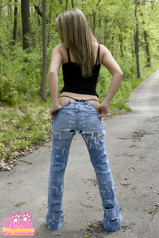 Shredded Jeans N Nikki