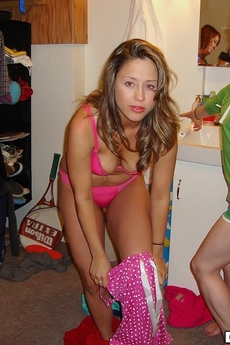 Check Out These Hot College Babes Get Fucked In These Hot Whip Cream Group Sex College Fuck Pics