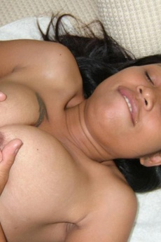 Thai Gf Gives A Sexy Titty Fuck With Her Huge Tits