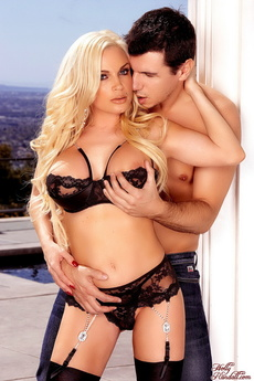 Diamond Foxxx And Dennis Martin