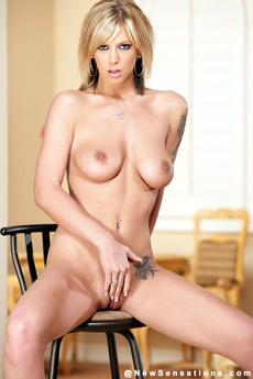 Brookestrips Down And Lets Her Tits Hang