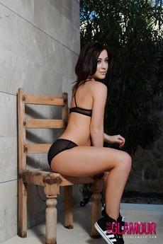 Chloe B Strips Naked