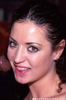 Lusty Brunette Enojoys A Interracial Fucking