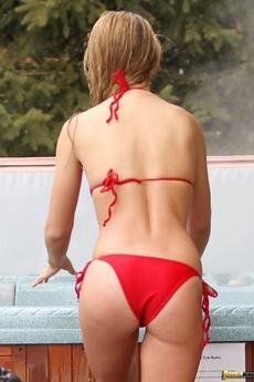 Amy Willerton Looking Awesome In A Red Bikini