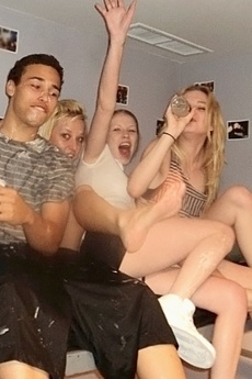5 Smoking Hot College Teens Get Fucked In This Amazing Whip Cream Fucking Shower Fucking Amazing College Room Sexy Party