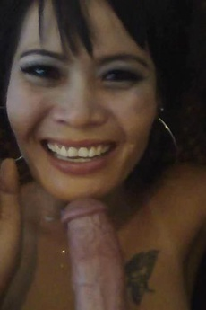 Slutty Thai Girl With Smooth Pussy Sucks And Fucks A White Dick