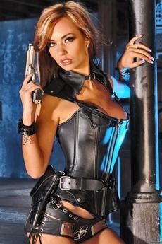 Adriana Latex Corset