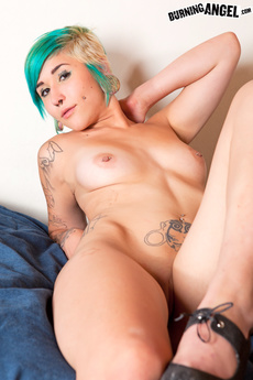 Punk Rock Pierced Slut Sofi Von Doom Strips