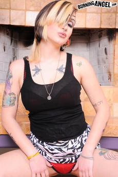 Punk Rock Slut Nova Strips And Spreads