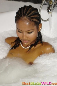 S Exy Thai Teen Comes Home And Takes A Hot Bubble Bath