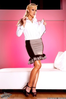 Kayden Kross Sexy Secretary!