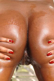 Ebony Babe Jasmine In Ass Fun