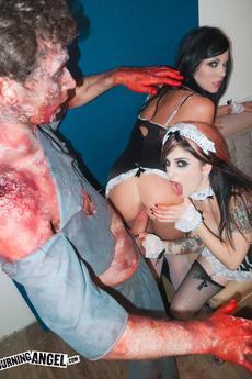 Andy San Dimas & Joanna Angel Fuck A Zombie