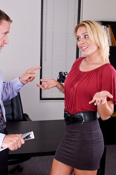 Jamey Janes Gets Fucked Hard In The Office!