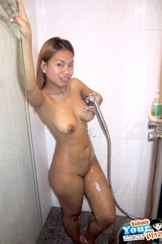Asian Babe With Perfect Tits Sucks And Fucks