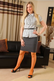 Hot Secretary Natalie Grant