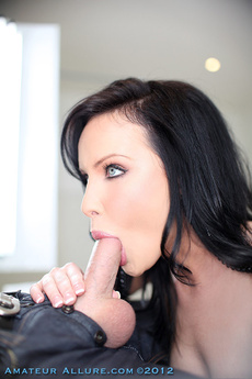 Katie St. Ives Blows Cock