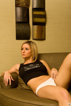 Active Posing For Playboy's 2008 Girls Of The Big