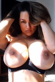 Monica Mendez   Black Lace Webcam   Set 1