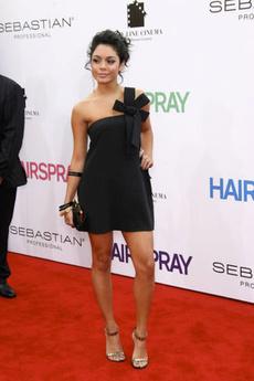 Vanessa Hudgens And Victoria Beckham At Hollywood Scanner