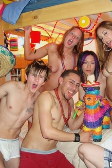 Check Out Amazing Hot Real College Teenies Get Fucked In These Real Dorm Room Fuck Partys