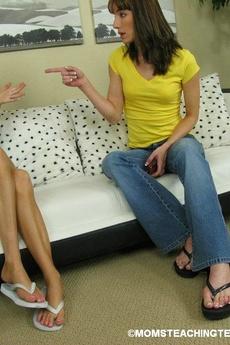 Hot Mom Teaches Teen To Fuck