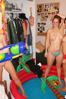 Hot Fucking Fireman College Dorm Room Dress Up Party Real Video