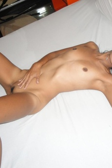 Skinny Thai Slut Gets Fucked And Gets A Creampie