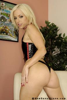 Blonde Hottie Angels Stone Posing Nude