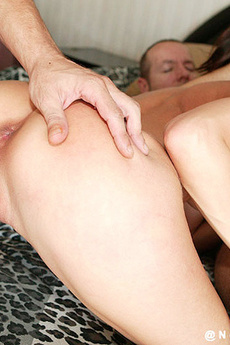 Jamie Huxley Gets Nailed By Two Cocks