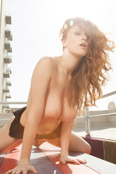 Playboy.Com Is On Set With Leanna Decker To Shoot